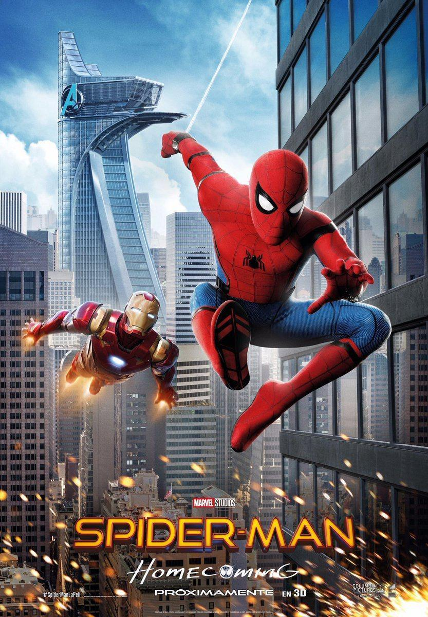 Spider-Man de Regreso a Casa (2017) DVDRip Latino