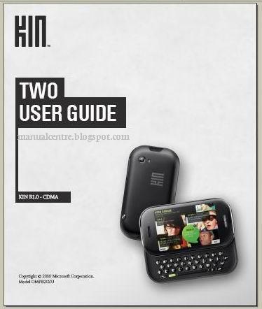 zune instruction manual pdf
