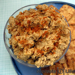 Featured Recipe: Creamy Hummus from Morsels of Life #SecretRecipeClub #recipe #appetizer #hummus