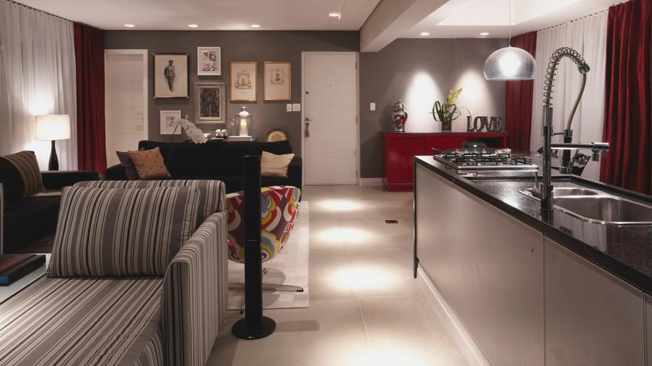 decoracao de cozinha e quarto juntos : decoracao de cozinha e quarto juntos:20 Cozinhas Integradas às Salas! Veja dicas e tendências de