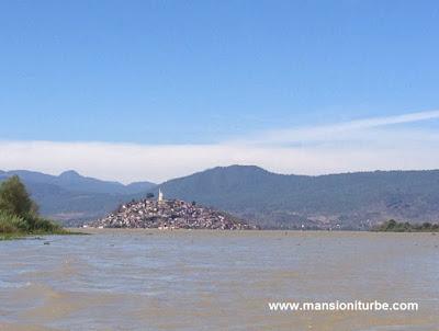 Lake Patzcuaro and the Island of Janitzio