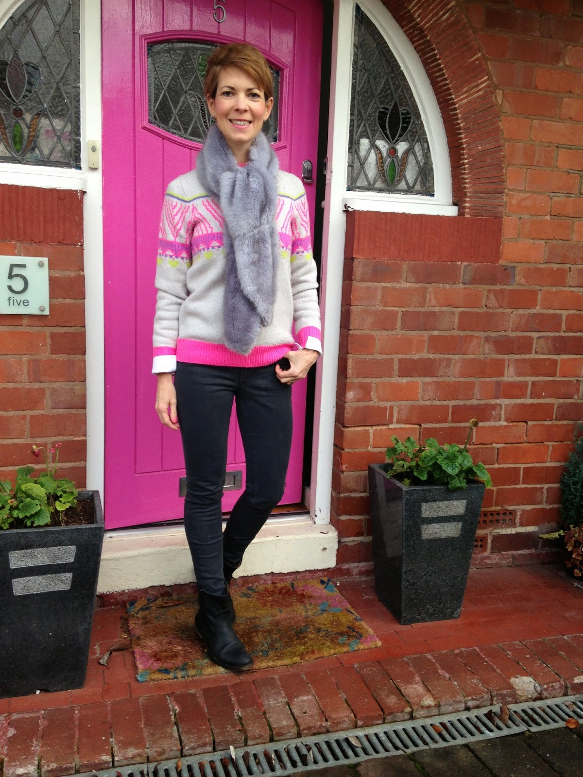 The 12 outfits of Christmas – Day 1, casual glamour (Clamour)