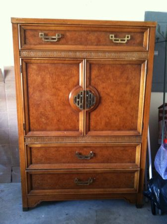 Henry Link asian armoire / wardrobe