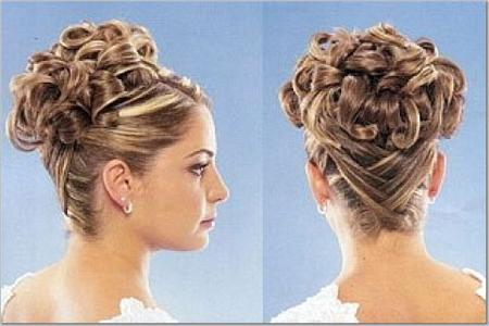 Hairstyle at Wedding Gown Serenity