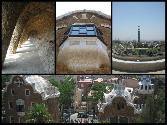 El Parque Güell en Barcelona
