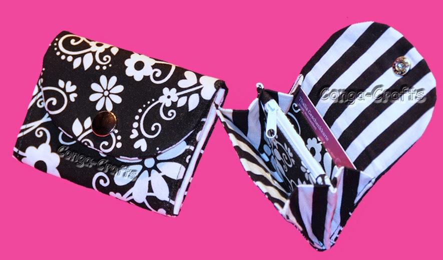 gabriele s conga crafts blog neue videoanleitung kleiner geldbeutel mini purse. Black Bedroom Furniture Sets. Home Design Ideas