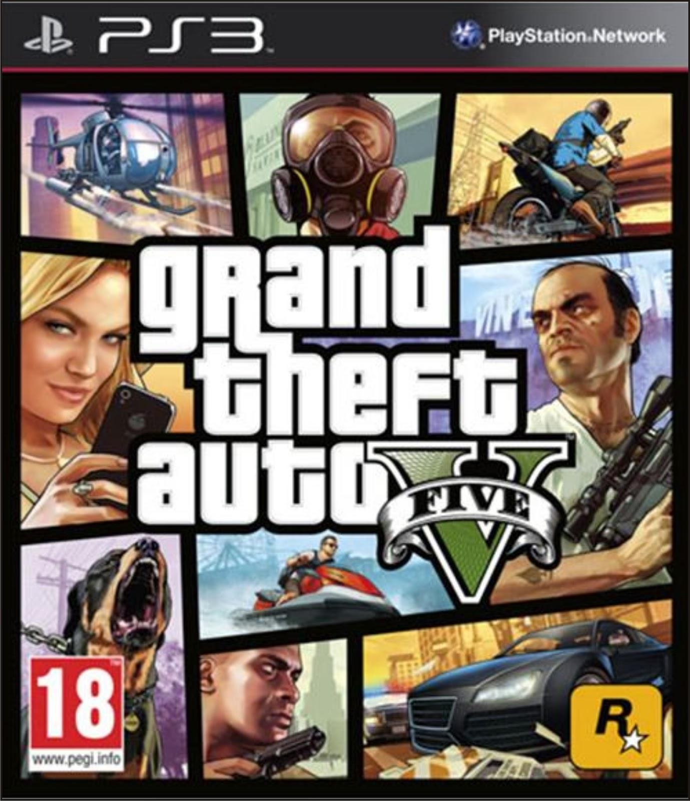 Gta 5 ps3 game download