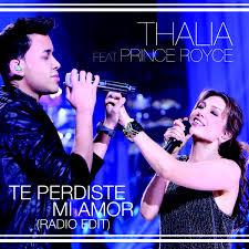 Download Lagu Thalia Featuring Prince Royce - Te Perdiste Mi Amor