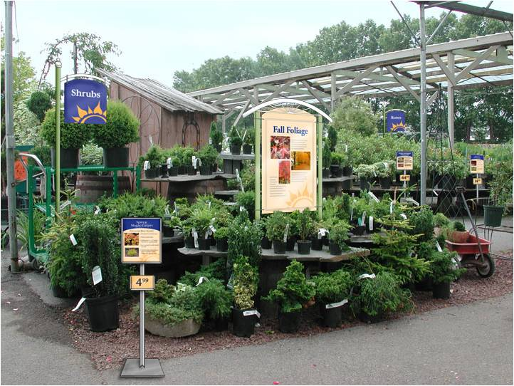 A Display From The Newly Rebranded Garden Center
