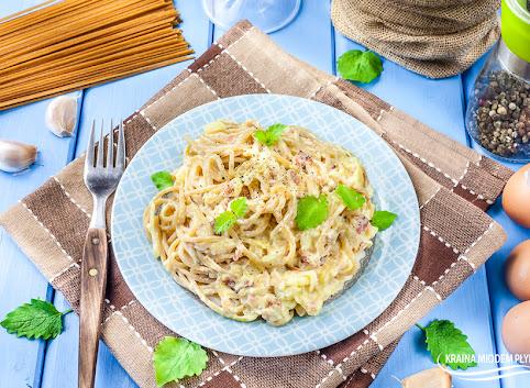 Spaghetti w sosie Carbonara