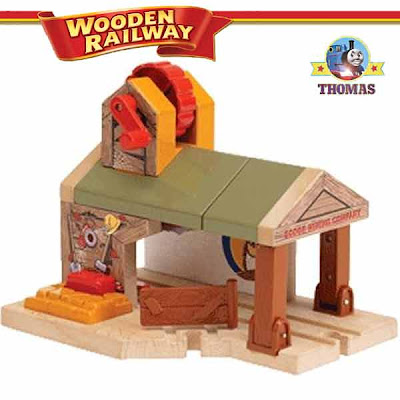 Thomas tank and Friends Wooden Railway system Percy train and the Haunted Mine Tunnel set real wood