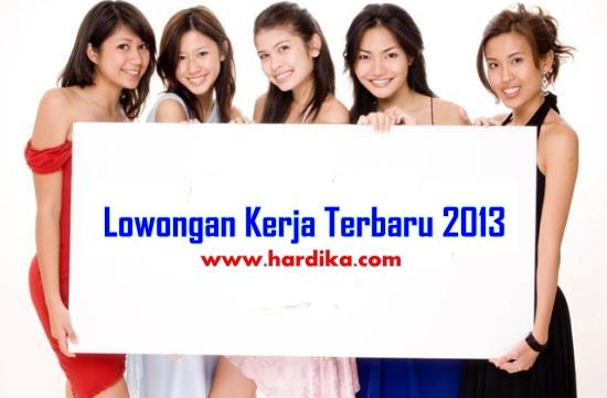 Lowongan Kerja di Padang Bulan Juni 2013 www.hardika.com