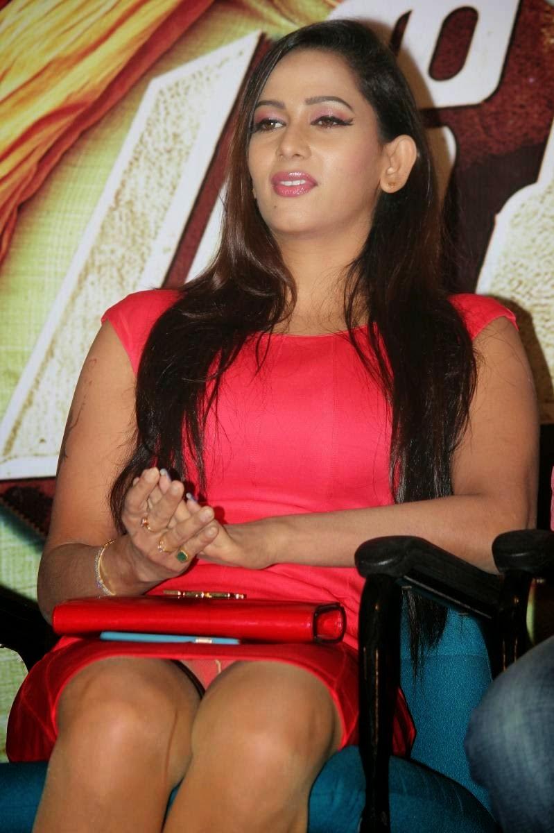 Actress Panty Show Sexy Sanjana Singh South Actress Spicy Photos Thigh ...
