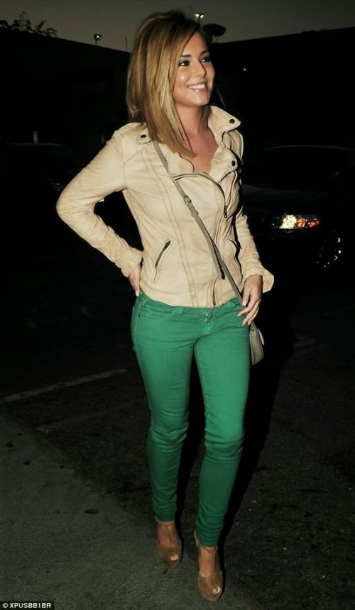 Banana Mania Color Jacket And Green Jeans