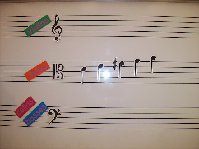 musical symbols magnets
