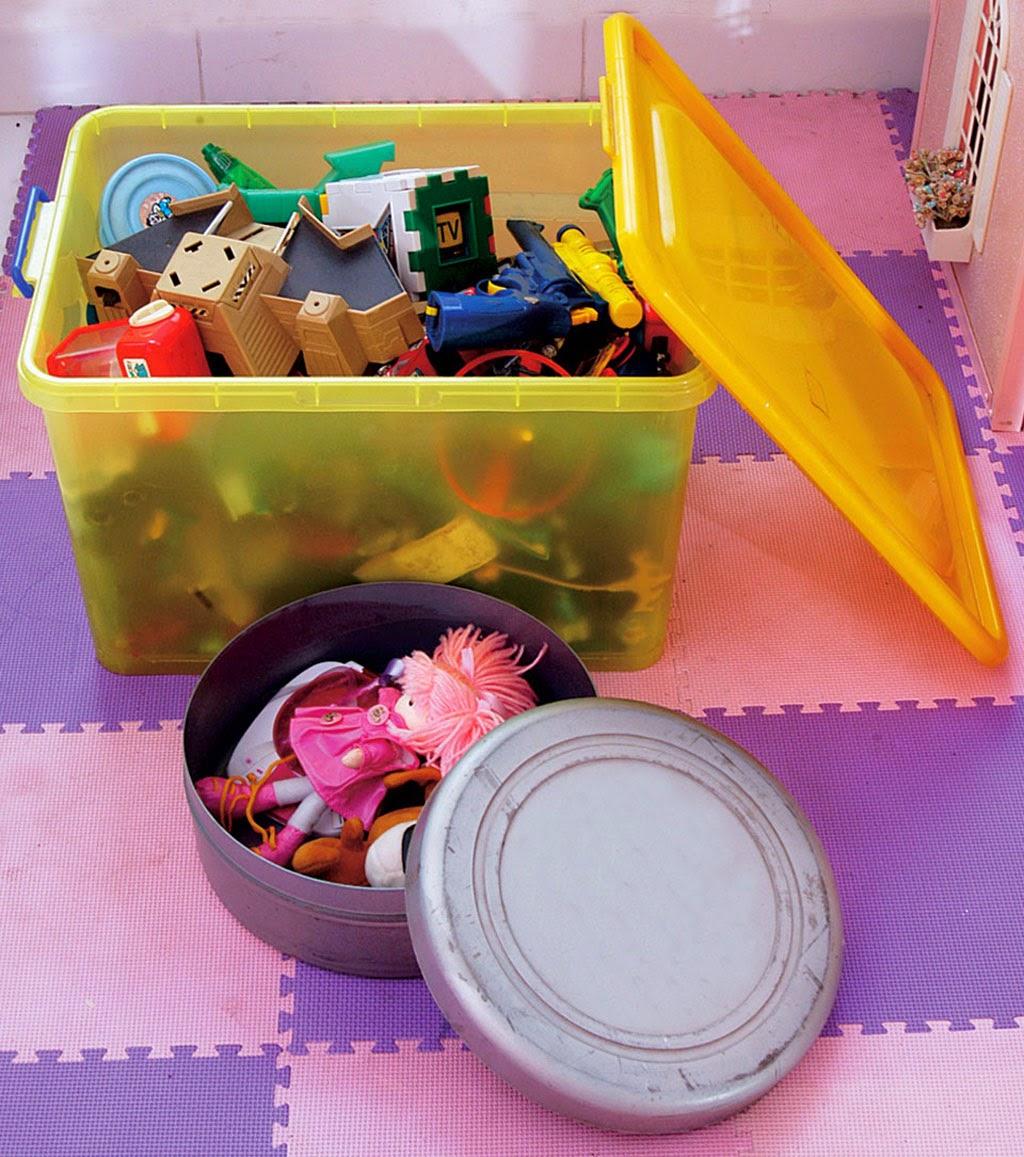 Menyiapkan Penyimpanan Barang Dalam Kamar Bayi