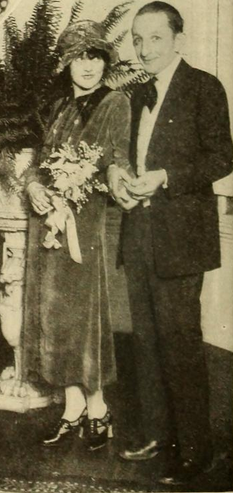 Dorothy Dwan and Larry Semon