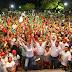 Nerio Torres celebra mitin masivo en el poniente de la ciudad