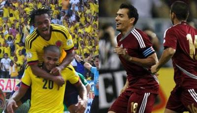 Venezuela vs Colombia vivo