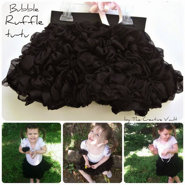 Bubble Ruffle Tutu Tutorial by The Creative Vault