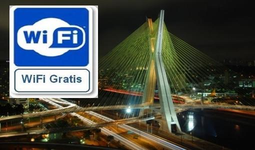 Cidade de São Paulo poderá ter cobertura de internet WiFi grátis