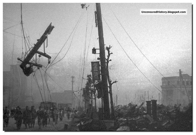 Tokyo street March 10 1945