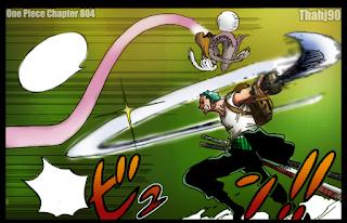 Kemampuan Carrot salah satu Mink melawan Zoro