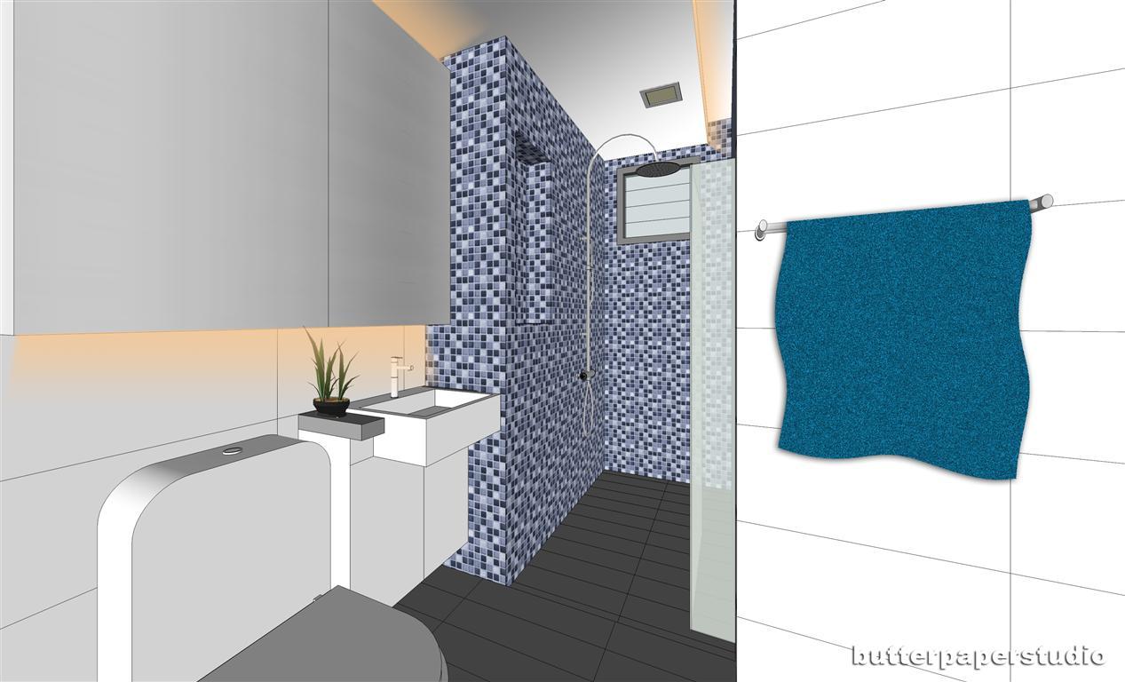 butterpaperstudio: Hougang Maisonette - Bathroom designs