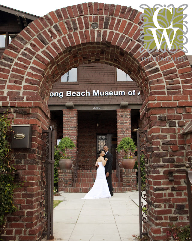 wedding long beach museum of art