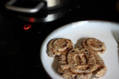 tapioca pudding waffle