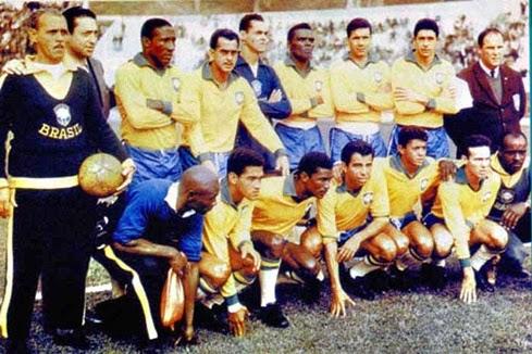 Time do Brasil campeão da copa do mundo 1962
