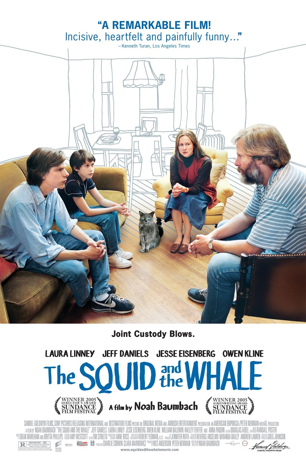 The Squid and the Whale (2005) | BRRip 1080p | Inglés