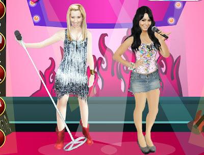 Vestir, maquillar y peinar a Miley Cyrus | Juegos