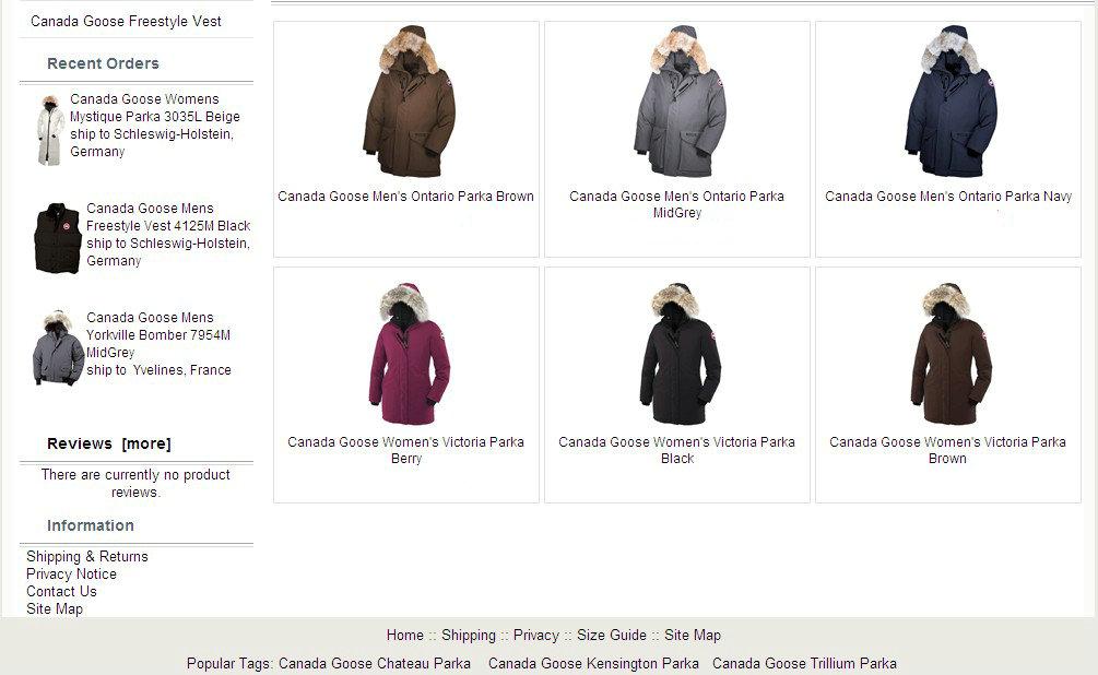 canada goose jakke tilbud