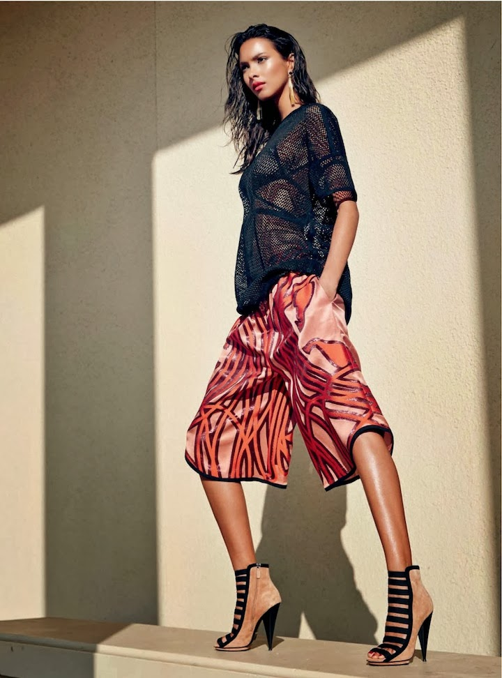 Lais Ribeiro By John Russo For Harper's Bazaar Arabia January 2014