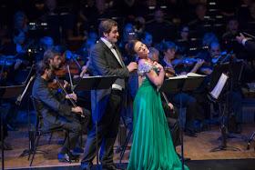 Riccardo Massi, Ermonela Jaho & BBC Symphony Orchestra (c) Russell Duncan