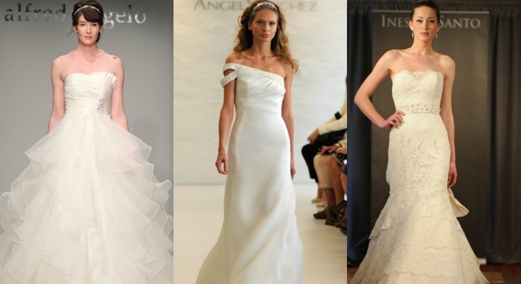 The santee alley bridal fashion week fall 2012 for Santee alley wedding dresses