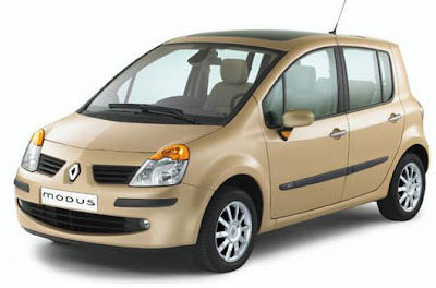 Renault Modus mini MPV