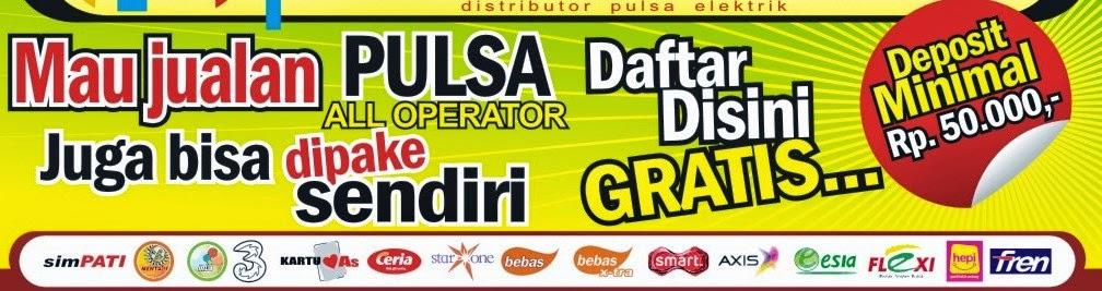 pengisian pulsa All Operator (GSM dan CDMA), Token PLN Prabayar dan Pembayaran PPOB Tagihan Listrik, Telkom, Speedy