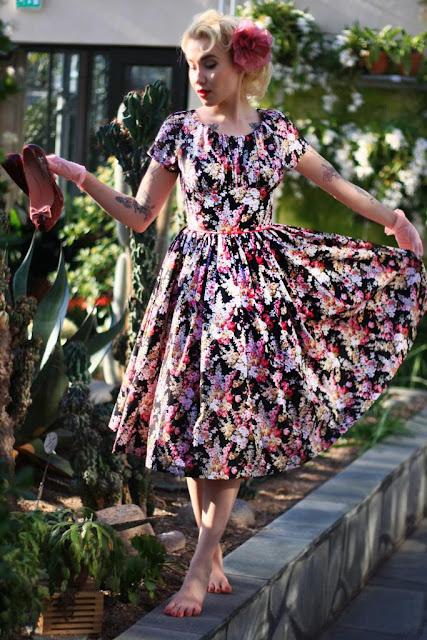 50s style Yvonne -dress by Cherise