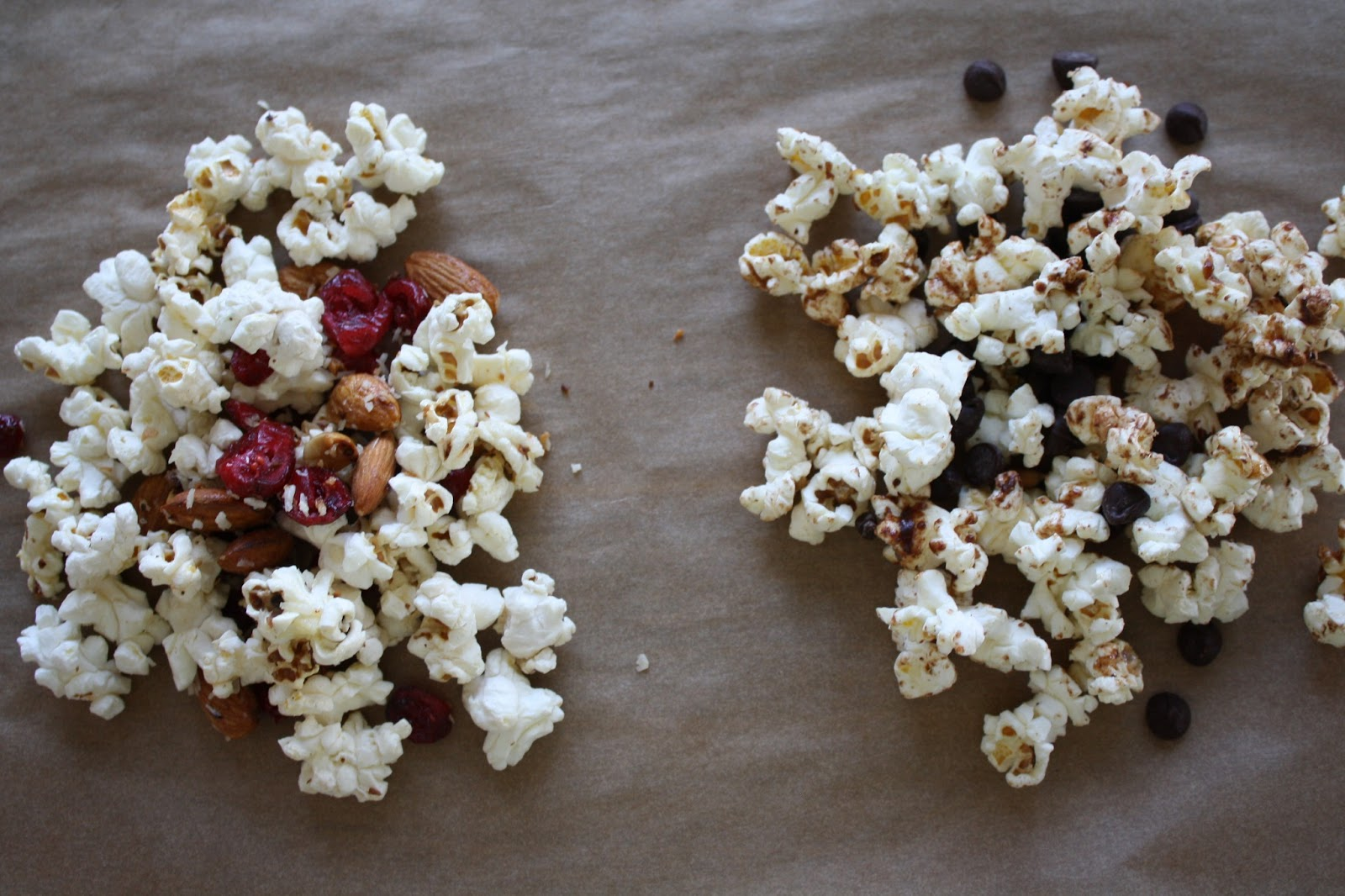 Cooking For A Better Tomorrow: Popcorn Trail Mix