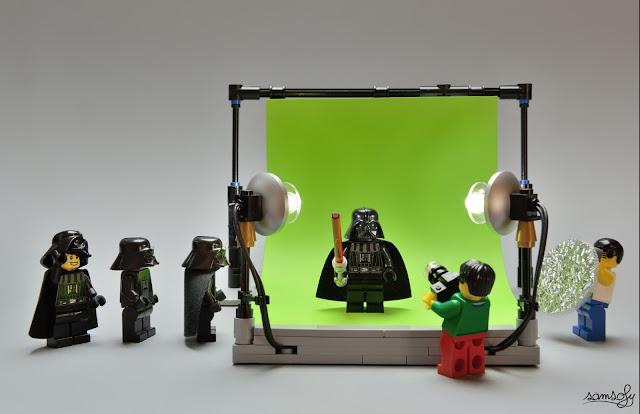 Samsofy, Legographie, Legografía, Vader Casting