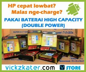 Vickzkater STORE - menjual baterai double power