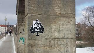 Lemmy Kilmister - Motorhead, Wittelsbacherbrücke, München