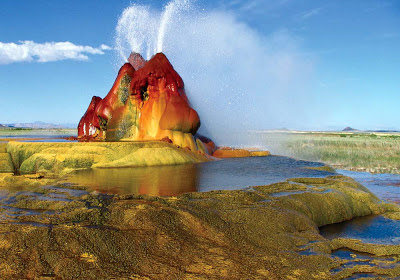 Fly Geyser – Nevada