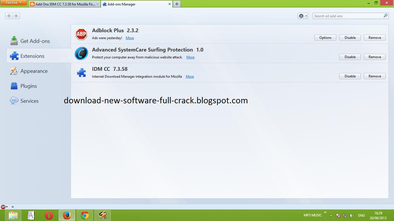 IDM CC for Firefox 33, 34, 35, 36, 36, 37, 38, 39 100% ...
