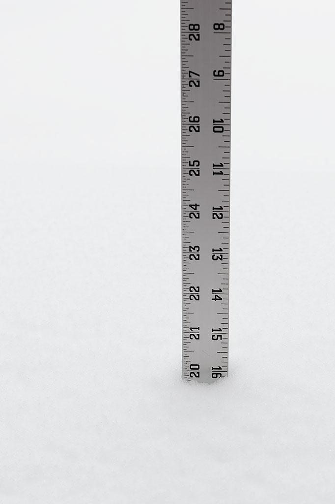 "20"" of snow"