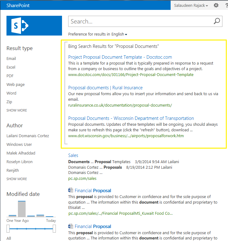 Search Results For Assortment: How To Create Federated Search Results In SharePoint 2013