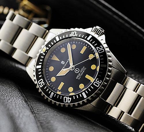 Oceanictime steinhart ocean vintage military - Oceanic dive watch ...