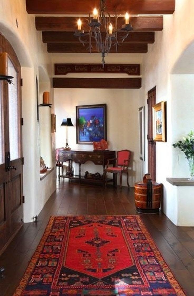 SpanishStyle Living Room  HGTV